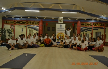 2nd International Day of Yoga held in Cluj City, Romania by Indian Embassy Bucharest