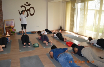 2nd International Day of Yoga in Timisoara (Romania) organised by Indian Embassy bucharest