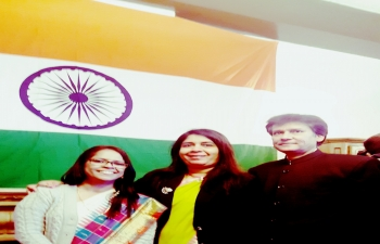 The 69th Republic Day of India was celebrated by the Embassy of India in Bucharest (Romania)