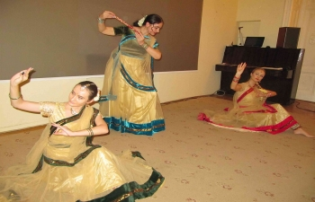 Kathak Dance by a Romanian troupe (08.12.2018)