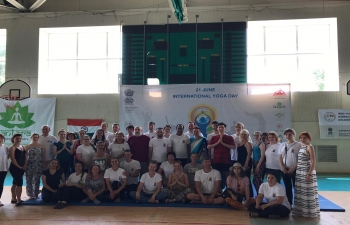 5th International Day of Yoga in Moldova