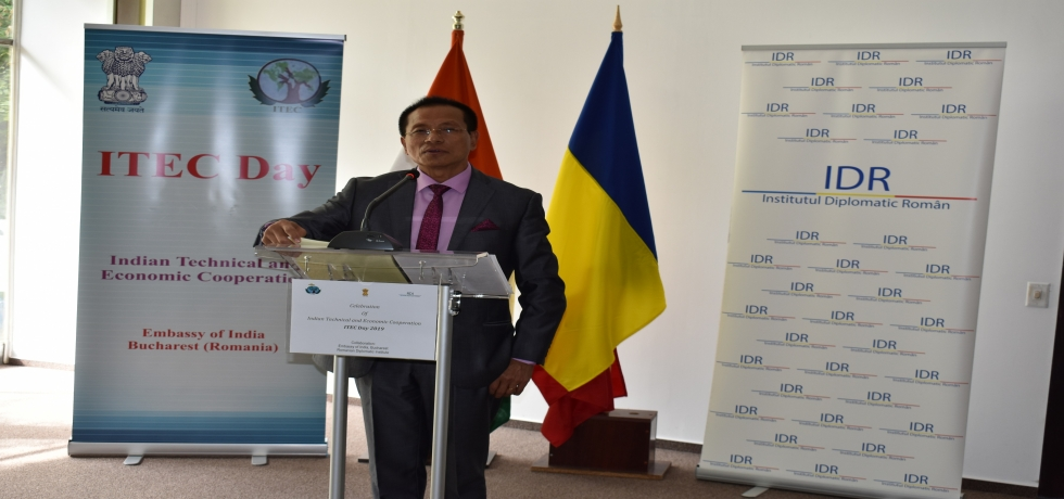 Celebration of ITEC Day 2019 in collaboration with the Romanian Diplomatic Institute (IDR)
