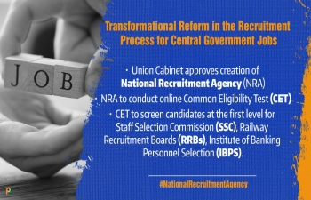 Union Cabinet approves setting up of National Recruitment Agency to conduct Common Eligibility Test