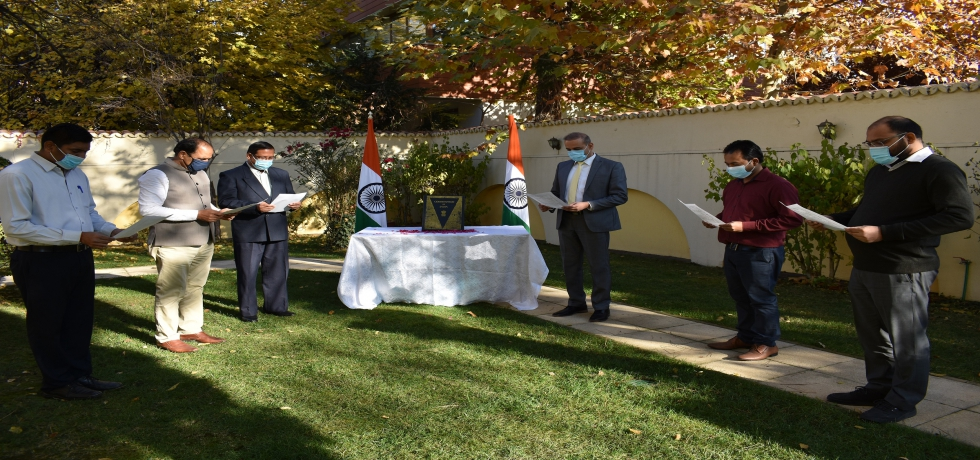 Constitution Day 2020: Reading of Preamble of the Constitution of India