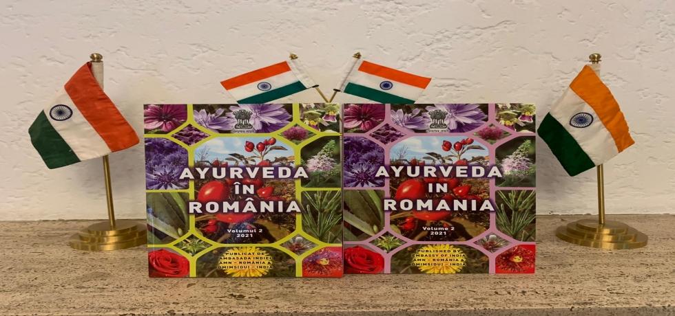 Ayurveda in Romania volume II - book launch
